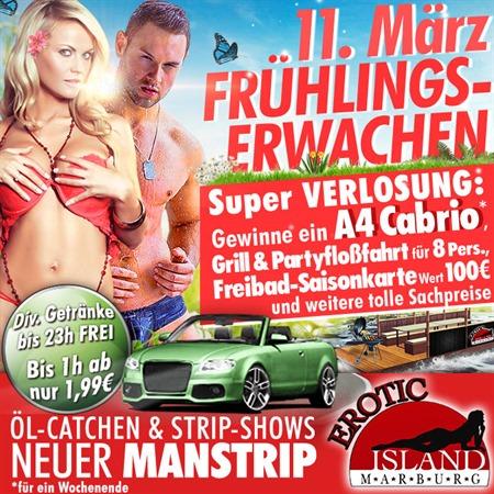 Frühlingserwachen im Erotic Island am 11.03.2017
