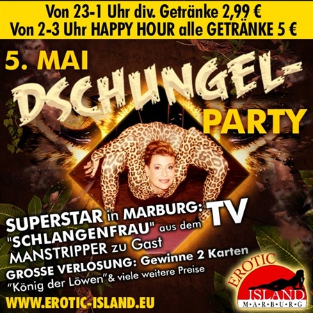 Dschungel-Party am 05.05.2018