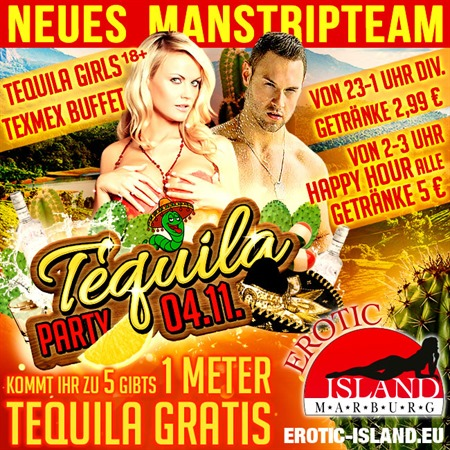 Tequila Party am 04.11.17