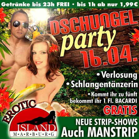 Dschungel Party 16.04.2016