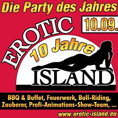 10 Jahre Erotic Island am 10.09.2016