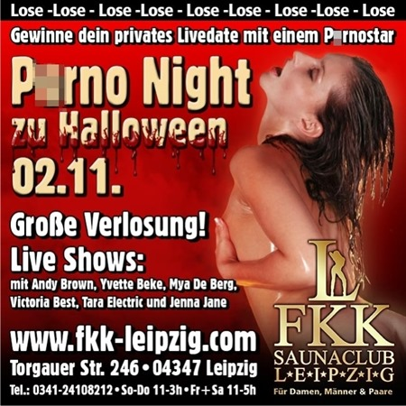 P*rno Night zu Halloween 02.11.13