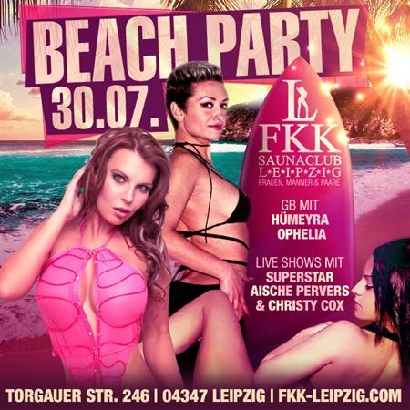 Beach Party 30.07.16