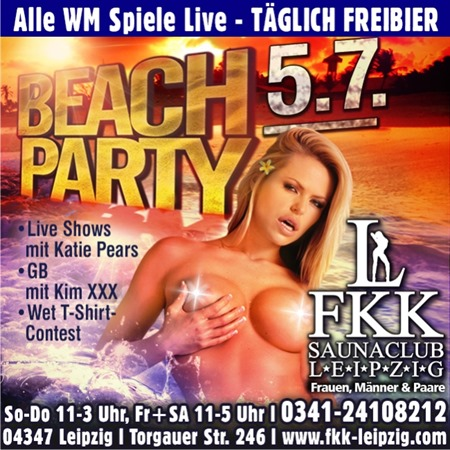 Beachparty 05.07.14