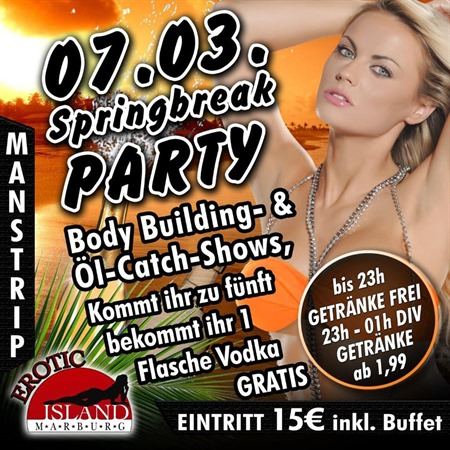 Springbreak Party 07.03.2015