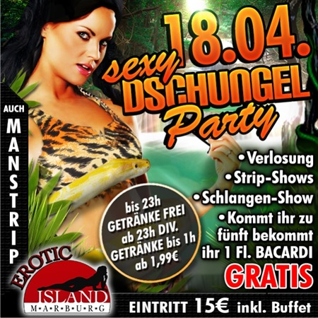 Sexy Dschungel Party 18.04.2015