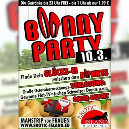 B*NNY-PARTY am 10.03.2018