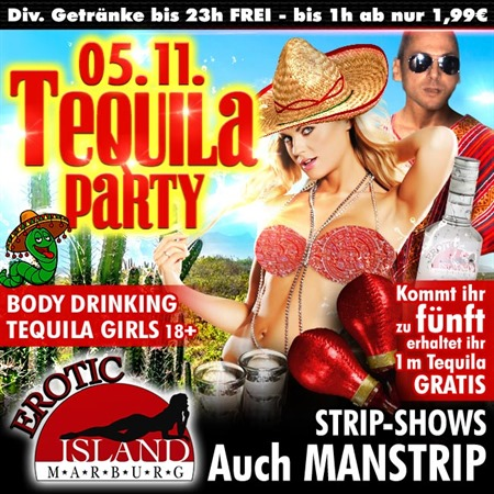 Tequila Party am 05.11.2016