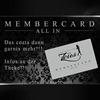 """Noch mehr Member mit der Member Card """"all in""""!  im Zeus FKK Club"""
