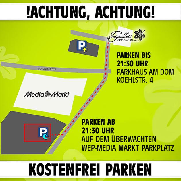 Neues Parkplatzangebot