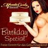 Birthday Special - Feiern im Monte Carlo! im  Baden-Baden