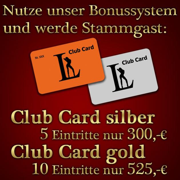Clever sparen mit der Club Card!