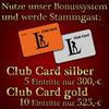 Clever sparen mit der Club Card! im FKK Leipzig