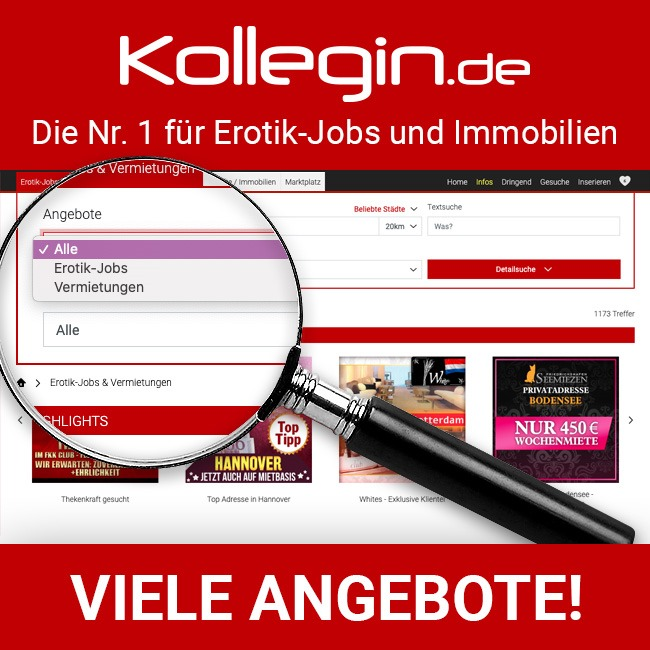 Erotik-Jobs & Immobilien, Kollegin.de
