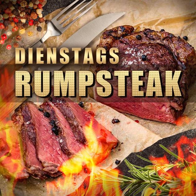 Reich an Fleisch: Das Rumpsteak Special