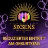 Freier Eintritt am Geburtstag  im Saunaclub Sixsens