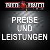 Preise und Leistungen im Tutti-Frutti Saunaclub