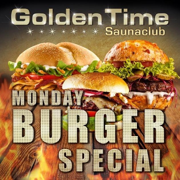 Monday Burger Special