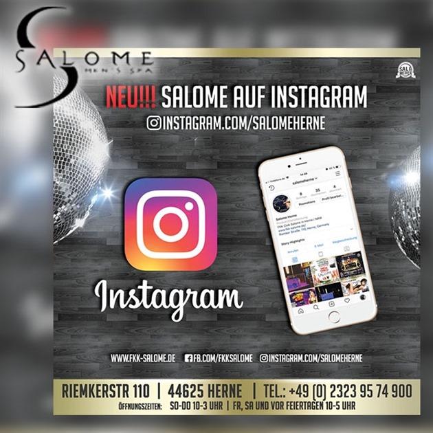 Salome auf Instagram