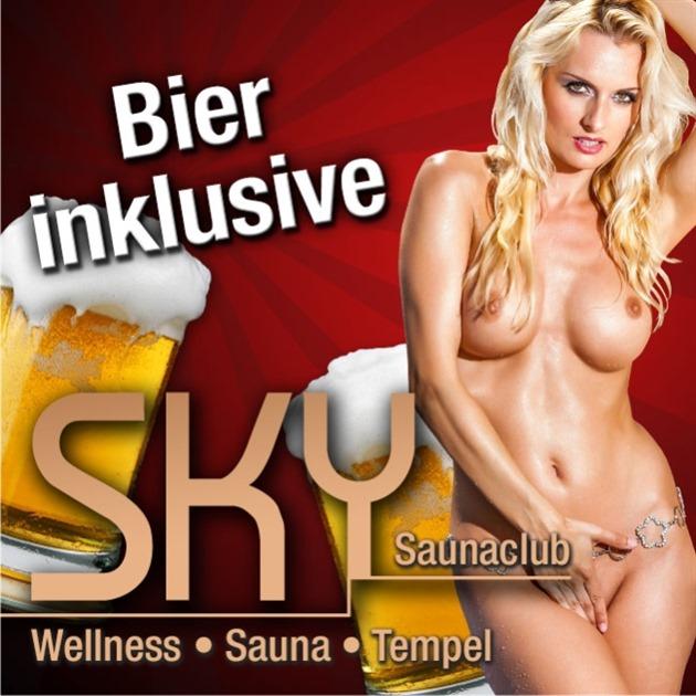 Bier im Eintrittspreis enthalten