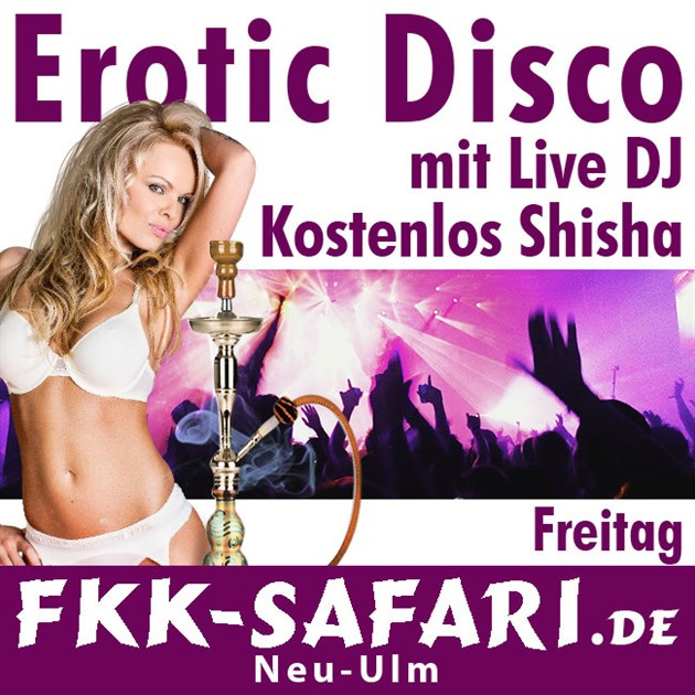 EroticDisco mit Live-DJ + kostenlos Shisha