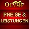 Preise und Leistungen  im Olymp