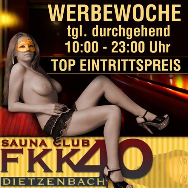 Werbewoche Eintritt von 10 - 23 Uhr nur 19,99€!!!