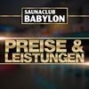 Preise und Leistungen im Saunaclub Babylon