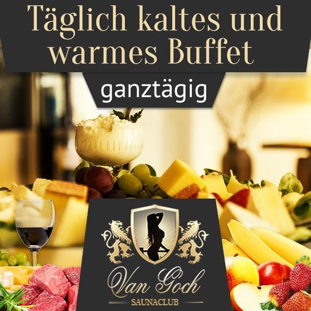 Täglich warmes und kaltes Buffet - ganztags!