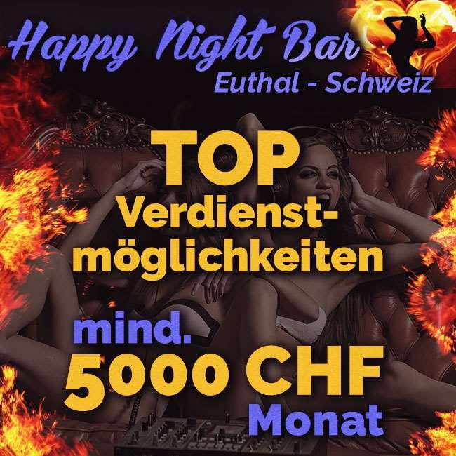 Happy Night Bar in der Schweiz - Zimmer auf Tagesmiete
