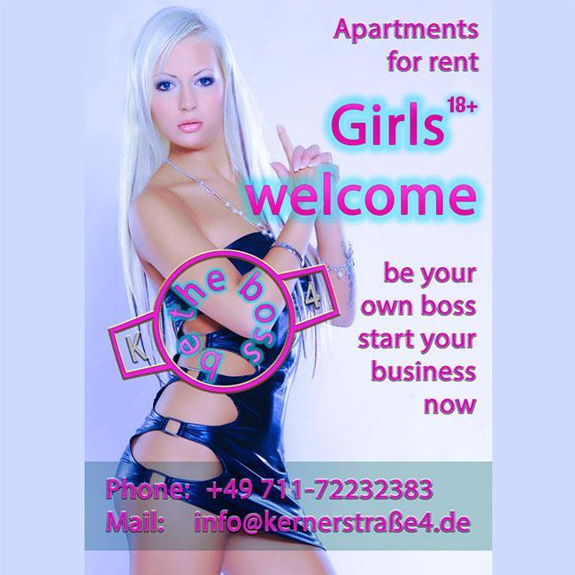 Lányok Üdvözöljük Stuttgart