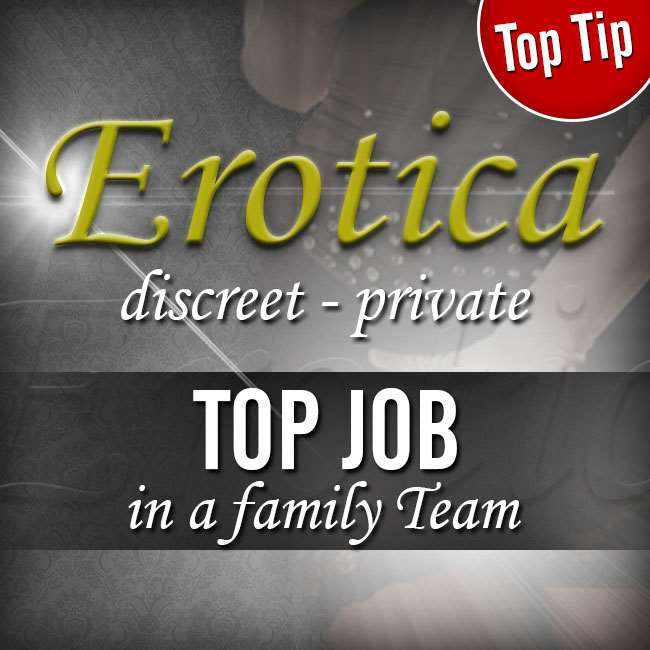 TEAM EROTICA is looking for nice ladies!