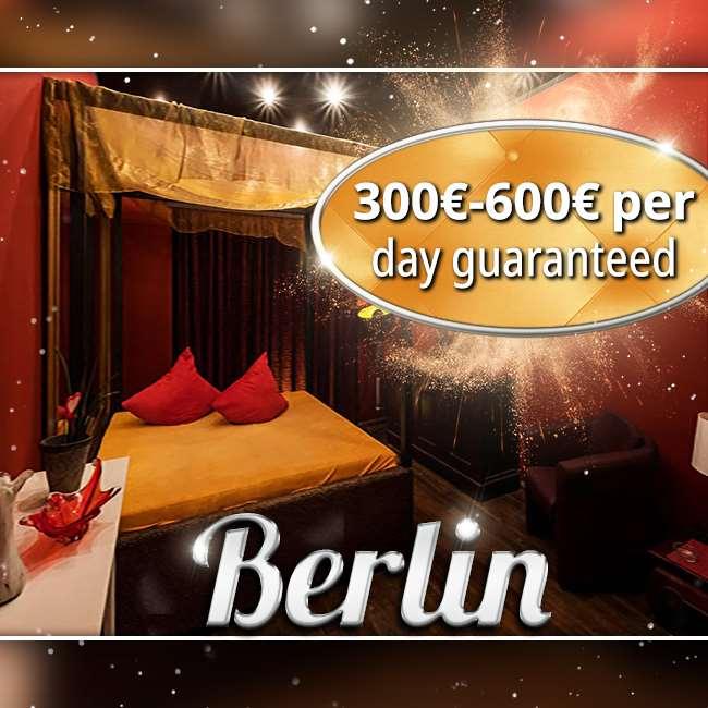 300 € - 600 € / day guaranteed!
