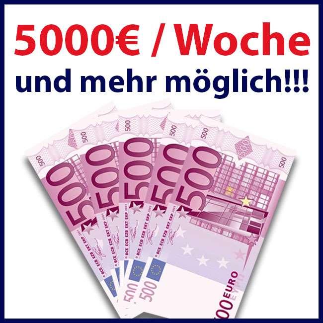 Bei uns verdienst Du garantiert viel Geld !!!