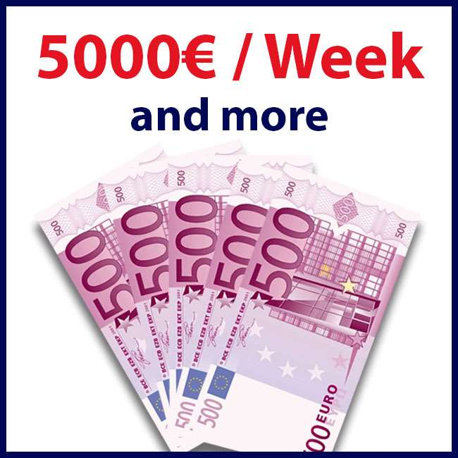 With us you are guaranteed to earn a lot of money !!!