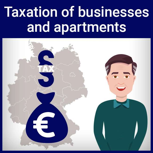 Taxation of businesses and apartments