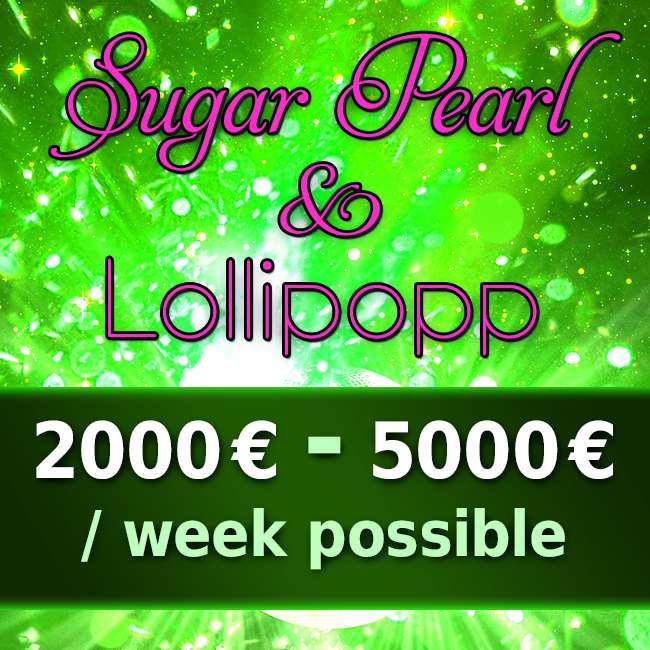 Sugar Pearl & Lollipop - Few seats available!