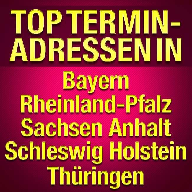 TOP-Terminadressen