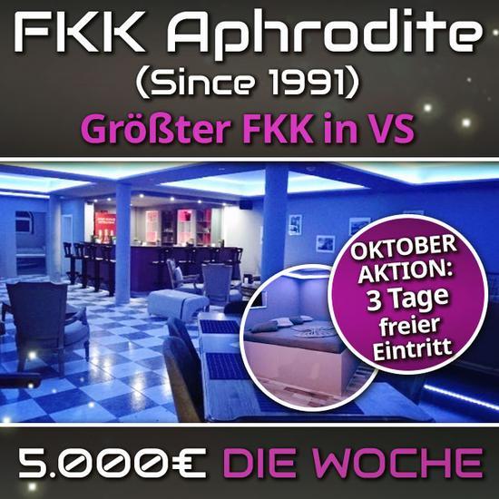 FKK Club Aphrodite - Nette weibliche Gäste gesucht