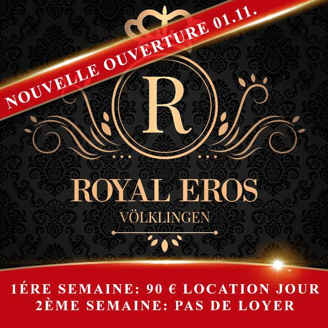 Royal Eros - réouverture le 1er novembre