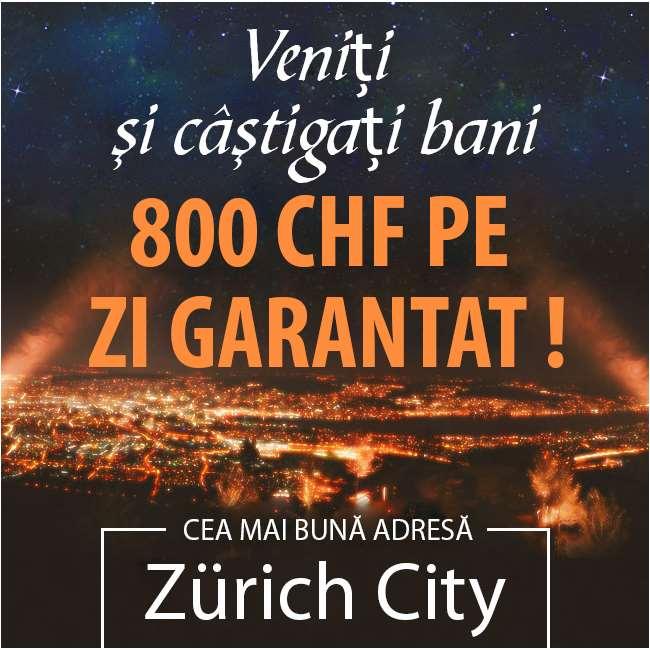 Câștigați garanția maximă - Vino în Elveția