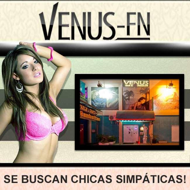 Club Venus está buscando damas en alquiler de habitación!