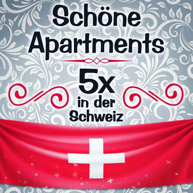 Komm in die Schweiz - 5 Standorte