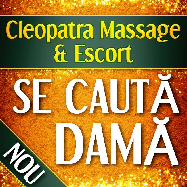 Cleopatra Massage & Escort - Câștigați bani acum!