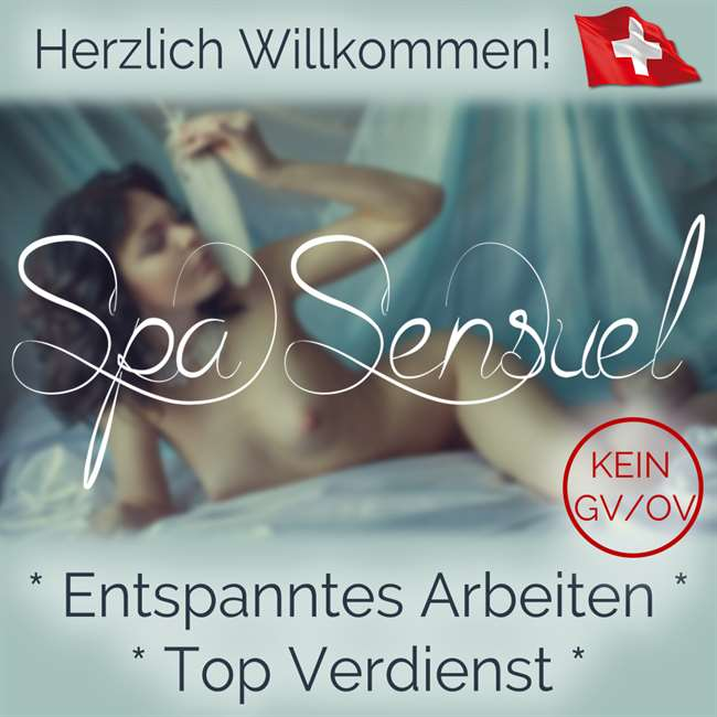 Spa Sensuel - Exklusives Massagestudio sucht Dich!