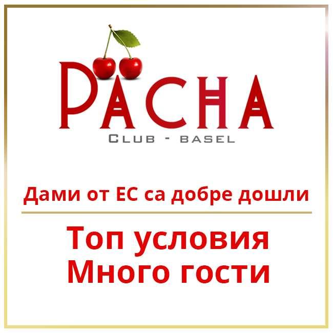Pacha Club Basel - Нашият екип търси укрепване!