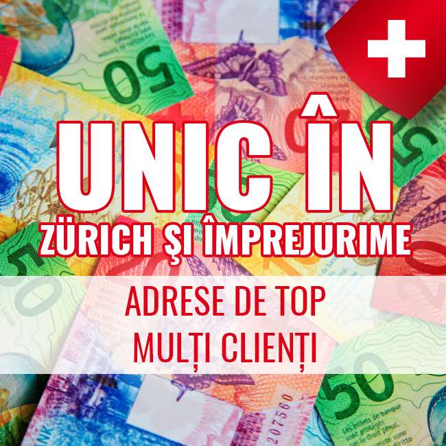 Zurich și împrejurimi - mulți oaspeți + toate accesoriile pentru tine!