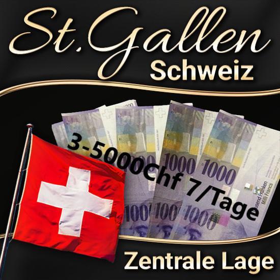 Miete oder auf Prozente in St.Gallen, Bern & Zürich in der Schweiz !