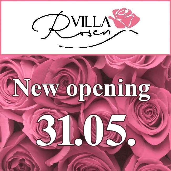 Villa Rosen - New opening on 31.05.