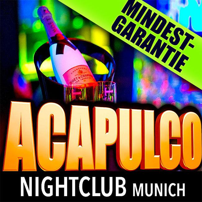 MINIMUM GUARANTEE at the Acapulco Nightclub Munich